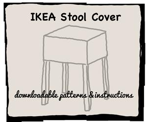 IKEA Stool Cover