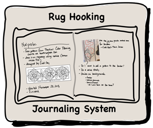 The Rug Hooking Journaling System
