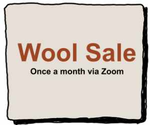 Wool sale on last Saturday of the month