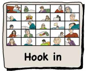 Hook-in hosted by Cindi Gay