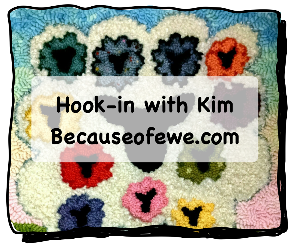 rug hook-in with kim hirt