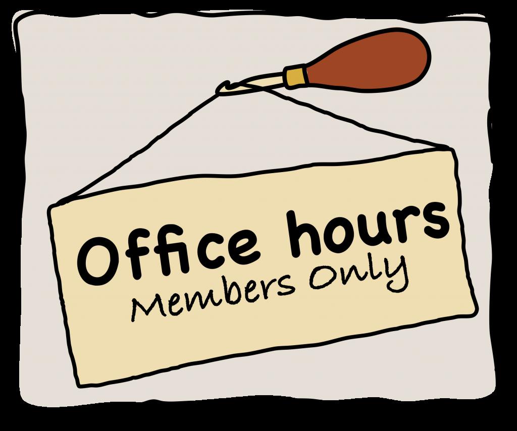 Rug Hooking Office Hours